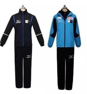 Полный костюм сборной Японии , новое , в пакетах
