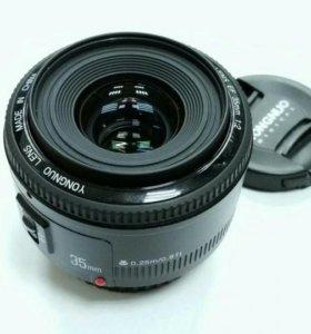 YongNuo AF 35mm f/2 Canon EF