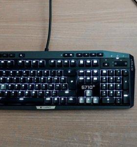 Игровая механическая клавиатура и мышь