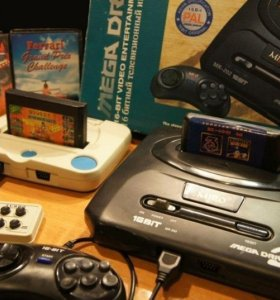 Приставки игровые Sega и Денди