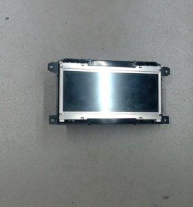 Дисплей компьютера Audi A6 C6   Ауди А6 С6, 4F 2005-2011, 2007