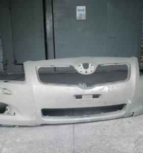 Передний бампер Тойота Авенсис, рестайлинг