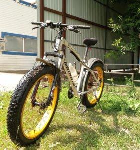 Фэтбайк, велосипед