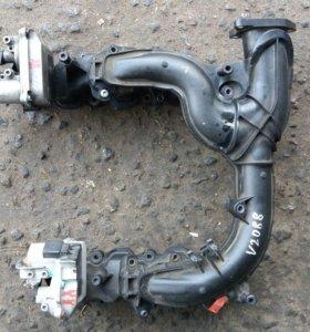 Коллектор впускной Audi A6 C6   Ауди А6 С6, 4F 2005-2011, 2007