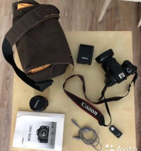 Canon 450D(18-55мм+50mm/f1.8) 8гб.Сумка.Япония