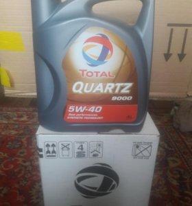 Автомасло Total Quartz 9ooo 5w40 4l