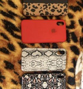 Чехлы на iPhone X, 5,6!