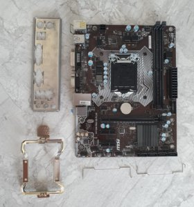 Материнская плата MSI H110M PRO-VD plus LGA 1151