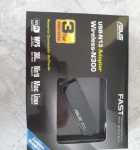 Внешний адаптер Wi-Fi для пк Asus N13 (USB)