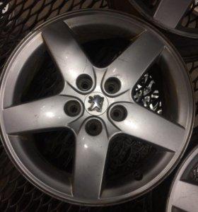 Диски литые R16 Peugeot (R 16)
