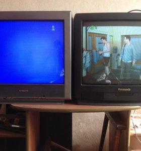 Кинескопные телевизоры 4 шт