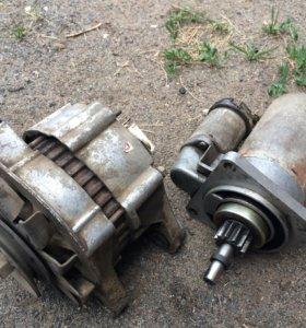 Стартер и генератор ваз 2108-09 2105-2107 отл сост