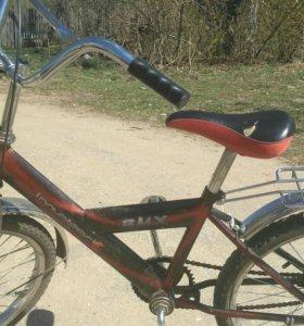 Отличный детский велосипед ВМХ