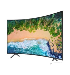 Телевизор 4 К , смарт изогнутый 49 дюймов