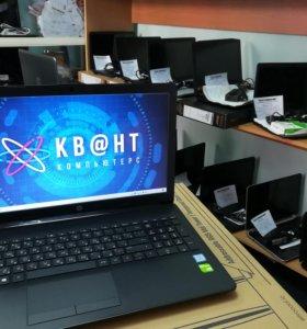 Новый HP c IPS матрицей i3 7020U 4gb 1000gb MX110
