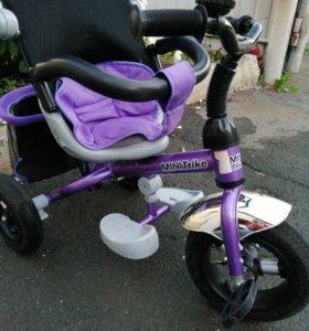 Новый 3х колесный велосипед-коляска Mini Trike