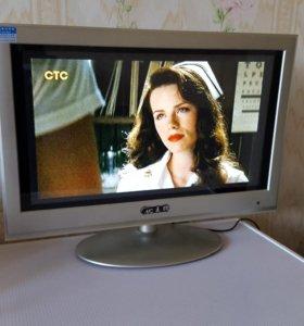 Телевизор + монитор