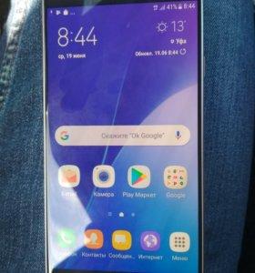 Samsung a7 2016, a710f золотой
