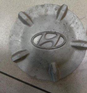 Колпак декоративный легкосплавного диска  Хендай, Хундай Матрикс 2001-2010.  5296017200