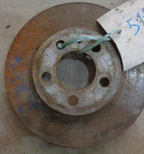 Диск тормозной передний  Фольксваген Джетта 6 2011>.  1K0615301T