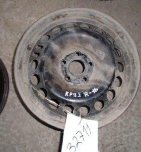 16 диск колесный штампованный  Шевроле Круз 2009-2016.
