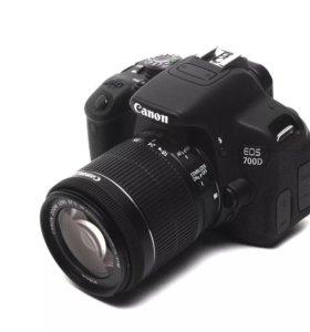 Фотоаппарат Canon EOS 700D Kit (18-55mm)