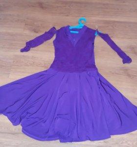 Бальное рейтинговое платье стандарт