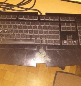 Клавиатура Razer deathstalker с подсветкой