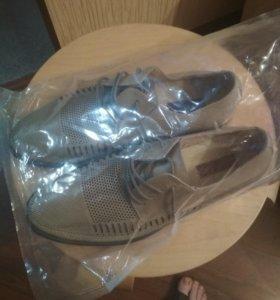 Новые натуральные мужские туфли