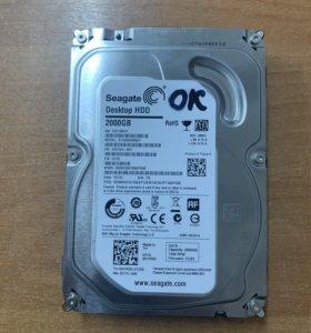 Жесткий диск 2Tb Seagate ST2000DM001