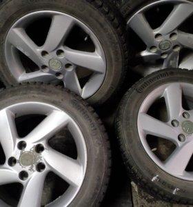 Зимние Колеса на Mazda R16 5x114,3
