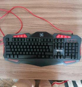 Клавиатура игровая с подсветкой.