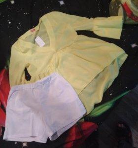 Шорты блузка