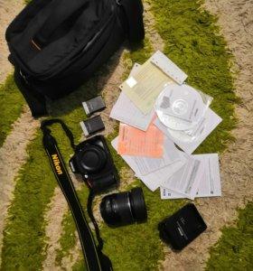 Продам Nikon 5100d
