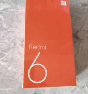 Xiaomi Redmi 6 4Gb/64Gb черный недорого.