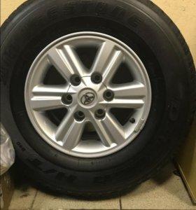 4 колеса Bridgestone Dueler H/T в сборе с дисками