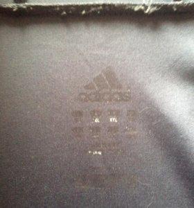 Худи adidas на молнии с укороченными руковами