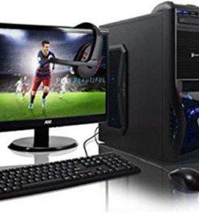 4 Ядра 12 GB Озу Компьютер в Комплекте