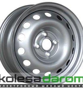 Trebl X40006 TREBL 6x15/4x100 D56.6 ET45 Silver