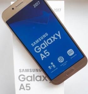 Водонепроницаемый SAMSUNG Galaxy A5 2017 32GB Gold