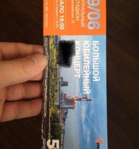 Билет на концерт Билана и карауловой