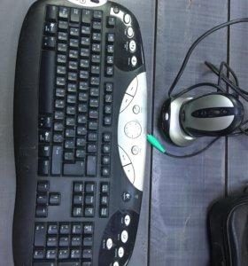 Беспроводной набор Logitech Cordless Desktop MX