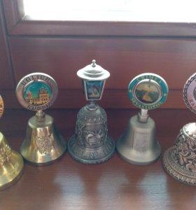 Колокольчики металл. Углич, Анапа, Севастополь