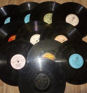 Грамофонные пластинки