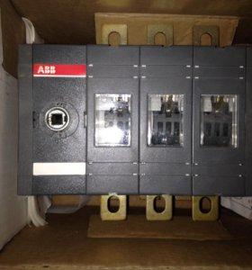 Реверсивный рубильник OT160E03C 3P 160A (ABB новый