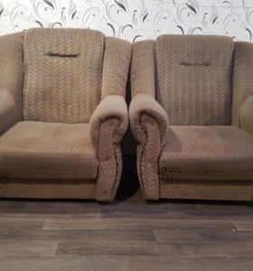Продам кресла от мягкой мебели