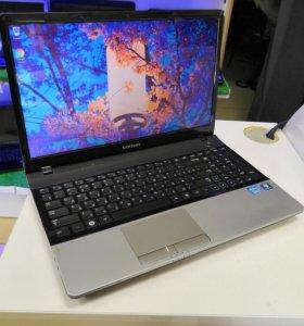 Быстрый SAMSUNG NP300 Core i3 4Gb Nvidia 520MX 1Gb