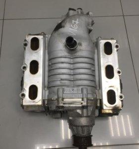 Компрессор двигателя на Audi A6 C6