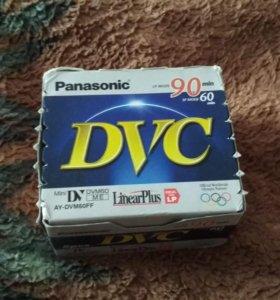 Видеокассеты MiniDV для видеокамеры (5 шт, новые)