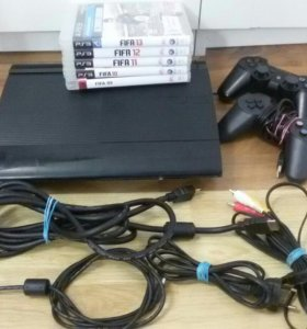 PS3 super slim 12gb + FIFA